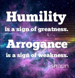 Humility 