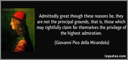 Admittedly great though these reasons be, they 