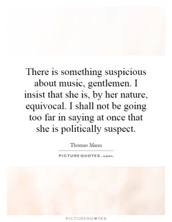 There is something suspicious 