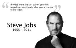 If today were the last day of your life, 