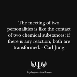 The meeting of two 