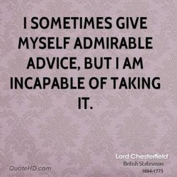 I SOMETIMES GIVE 