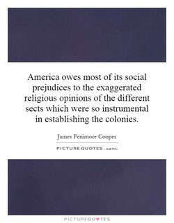 America owes most of its social 