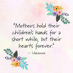 ((Mo+her6> hold Their 