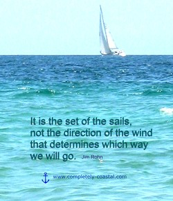 It isåhe set ofthe sails, 