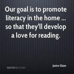 Our goal is to promote 