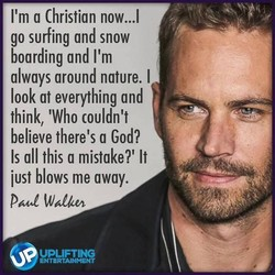 I'm a Christian now...l 