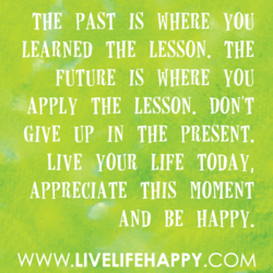 THE PAST IS WHERE, YOU 