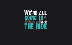 WE'RE ALL 