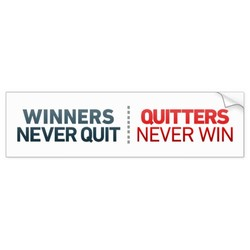 WINNERS QUITTERS 