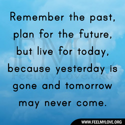 Remember the past, 