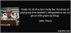 Finally, for all of us but a lucky few, the dream of 