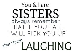 You & I are 
