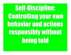 Self-DisciDline: 