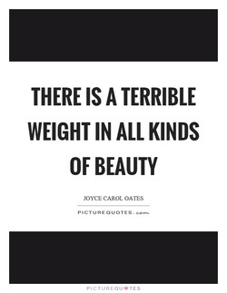 THERE IS A TERRIBLE 