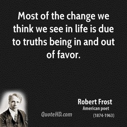 Most of the change we 