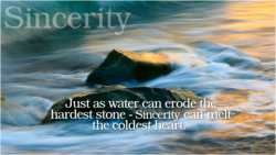 Sincerity 