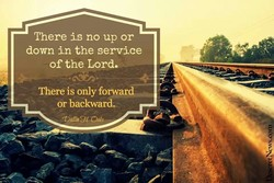 There is no up or 