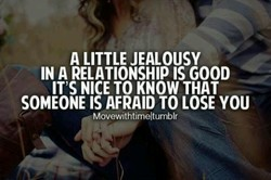 A LITTLE JEALOUSY 