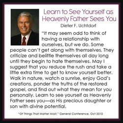 Learn to See Yourself as 