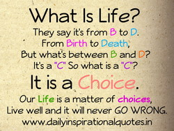 What Is Life? 