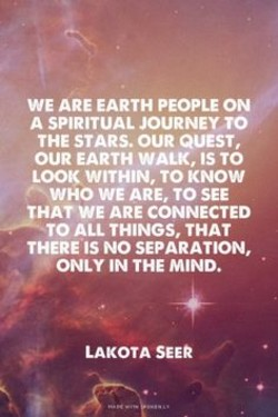 WE ARE EARTH PEOPLE ON 