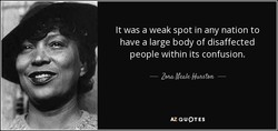 It was a weak spot in any nation to 