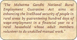 'The Mahatma Gandhi National Rural 