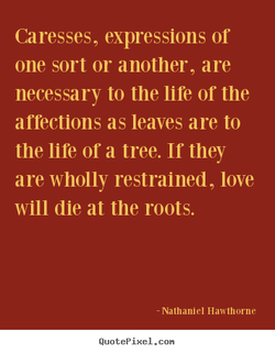 Caresses, expressions or 