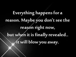 Everything ha pens fora 