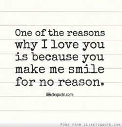 One of the reasons 