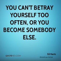 YOU CAN'T BETRAY 