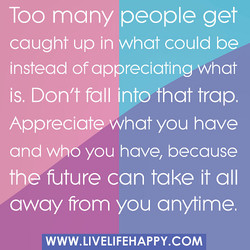 Too many people get 