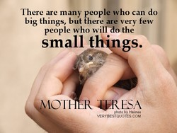 There are many people who can do 