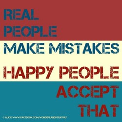 MAKE MISTAKES 