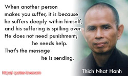 When another person 