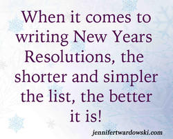 When it comes to 