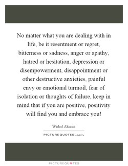 No matter what you are dealing with in 