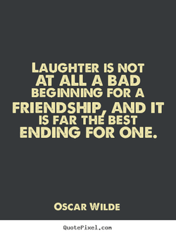 LAUGHTER IS NOT 