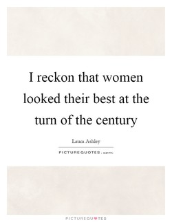 I reckon that women 