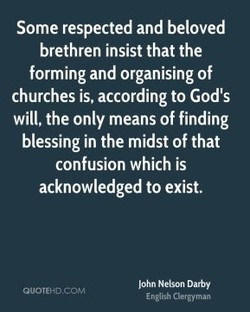 Some respected and beloved 