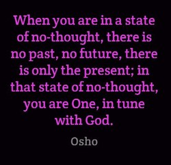 When you are in a state 