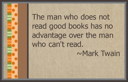 The man who does not 