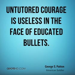 UNTUTORED COURAGE 