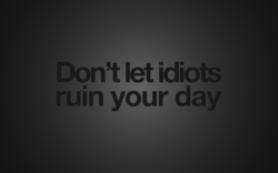 Don't let idioÉ 