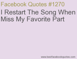 Facebook Quotes #1270 