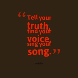Tell your 
