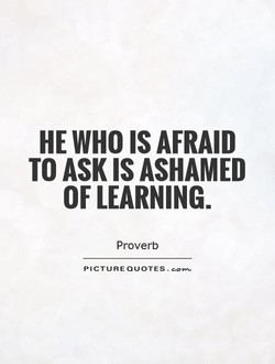 HE WHO IS AFRAID 