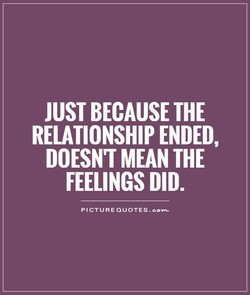 JUST BECAUSE THE 