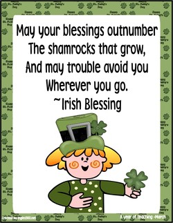 Moy your blessings outnumber 